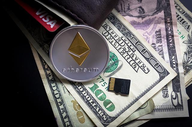 peníze a ethereum