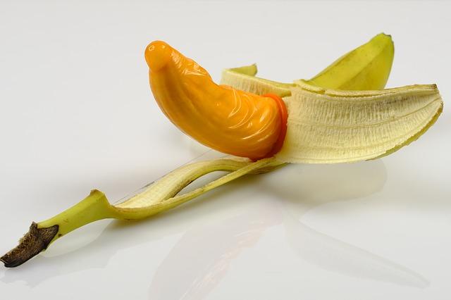 kondom na banánu